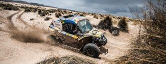 Команда South Racing Can-Am за кермом мотовсюдиходів  Maverick X3 завойовує перемогу в перегоновій серії ралі дакар 2018