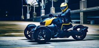 Компанія BRP здійснює переворот у категорії 3-колісних транспортних засобів, випустивши принципово нову модель – Can-Am RYKER