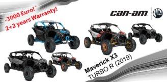 Акційна ціна на легендарний мотовсюдихід BRP – Can-Am Maverick X3 продовжена до 1 жовтня!